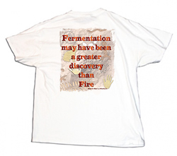 Homebrew Shirt - Fermentation  Greater than Fire